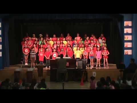 Ruth Chaffee Elementary School Spring Chorus Concert 2018