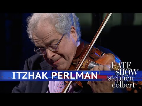 Itzhak Perlman Performs A Two-Song Medley With Jon Batiste