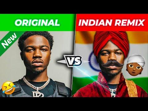 POPULAR RAP SONGS Vs. INDIAN REMIXES