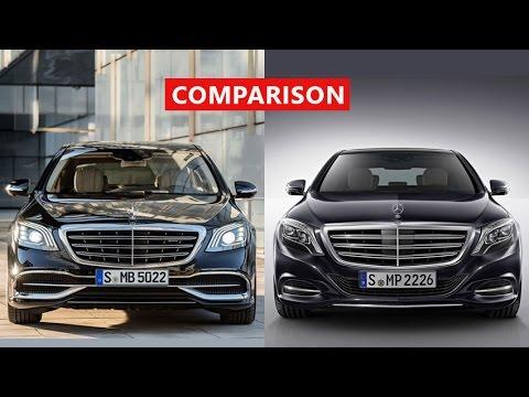 2018 maybach models. brilliant maybach 2018 mercedesbenz sclass vs 2017 mercedesmaybach comparison   walkthrough test drive intended maybach models n