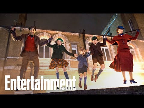 Mary Poppins Returns: Inside The Whimsical, Magical Set | Cover Shoot | Entertainment Weekly