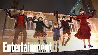 mary poppins returns inside the whimsical magical set cover shoot entertainment weekly
