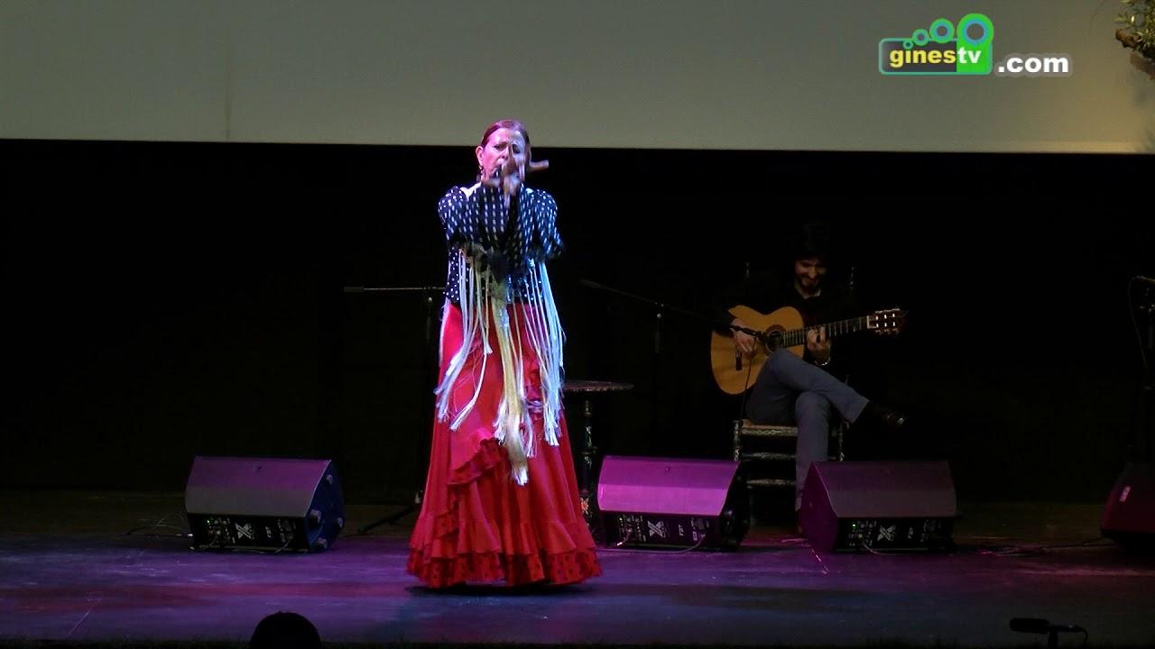 María Sánchez en el XVIII Festival Flamenco de Gines 2018