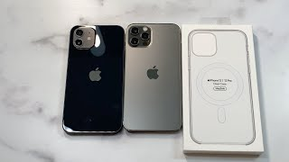 Official iPhone 12 | 12 Pro Clear Case with MagSafe unboxing and review