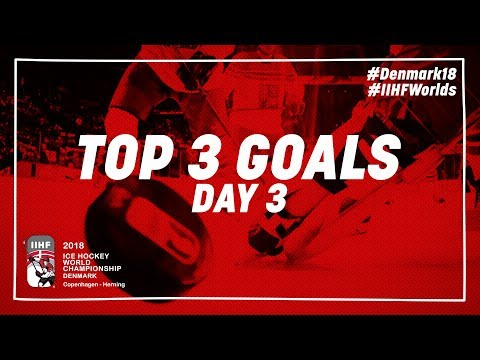 Top Goals of the Day May 6 2018 - #IIHFWorlds 2018 - 동영상