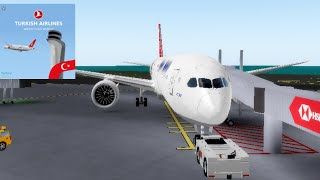 TURKISH AIRLINES | Business Class | Boeing 787 | ROBLOX