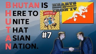 HoI4 - Road to 56 mod - Bhutan Is Here To Unite That Asian Nation - Part 7 - WAR WITH THE ALLIES!!