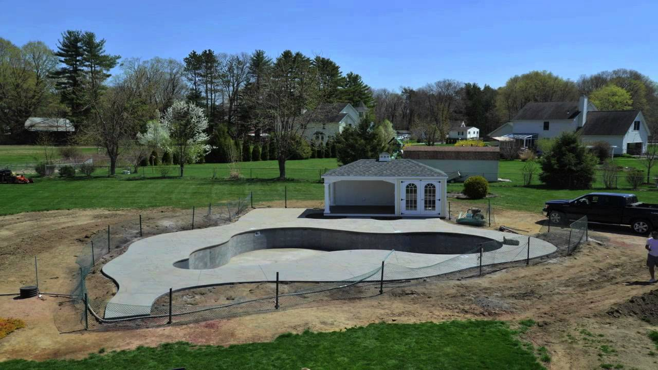 Time Lapse: Building an Inground Swimming Pool - YouTube