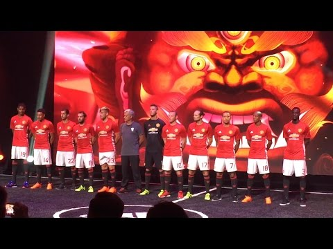 Manchester United Launch New Adidas Home Kit In Shanghai