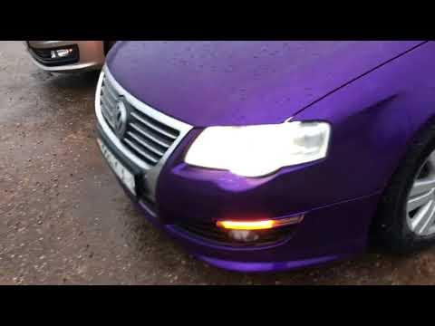 Audi led turns on Passat b6