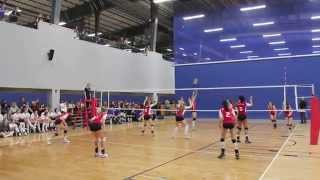 Canuck U16 Girls Volleyball AVA #2 2012 Part 1