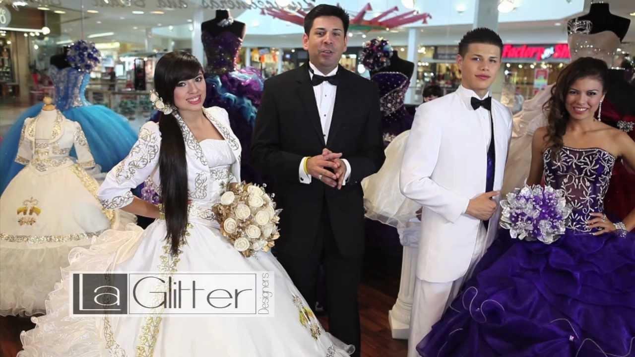 3ff860e1 La Glitter - 3rd Quinceanera Fashion Show - YouTube