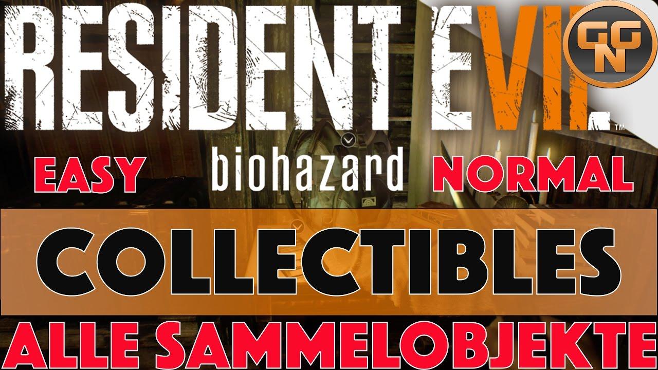 Resident Evil 7 Sammelobjekte Collectible Fundorte Antike Münzen