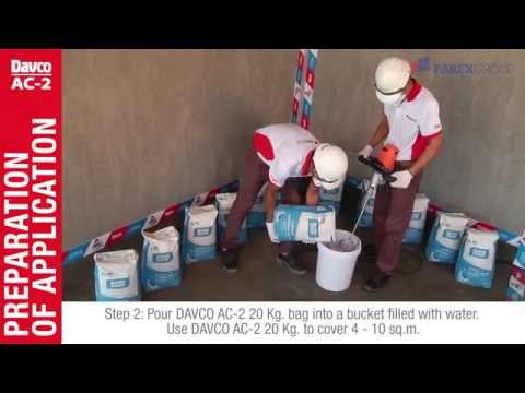 EN)DAVCO AC-2 Good for value Tile Adhesive from ParexGroup