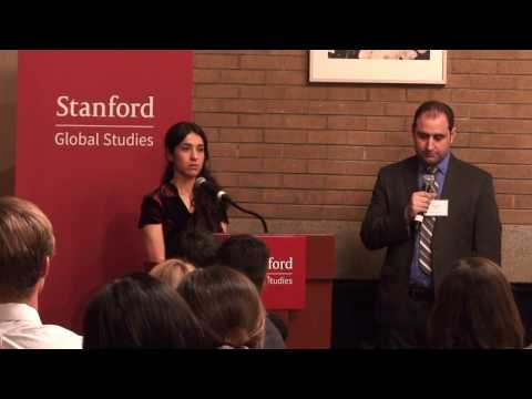 UN Goodwill Ambassador Nadia Murad Speaks at Stanford Global Studies on Bringing ISIS to Justice