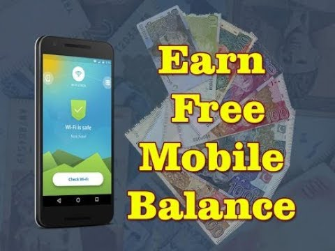 How to earn Free Balance ( FREE )