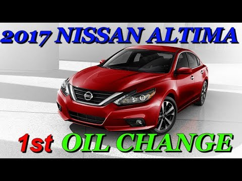2013-2018 Nissan Altima Oil Change: How to Quick Tutorial