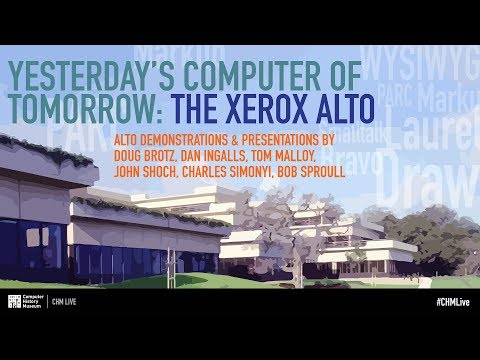 CHM Live | Yesterday's Computer of Tomorrow: The Xerox Alto