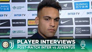 INTER 1-2 JUVENTUS | LAUTARO MARTINEZ + MILAN SKRINIAR INTERVIEWS [SUB ENG]