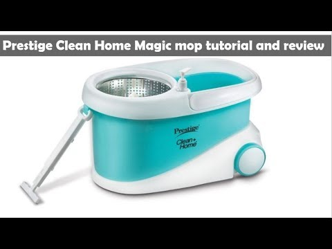 Prestige Clean Home Magic Mop Tutorial And Review Youtube