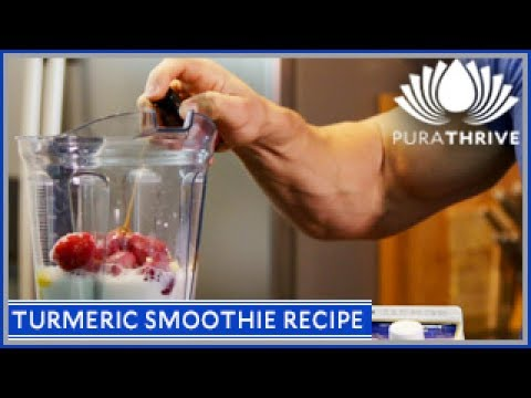 Turmeric Smoothie Recipe: Reduce Inflammation | PuraTHRIVE – Thomas DeLauer