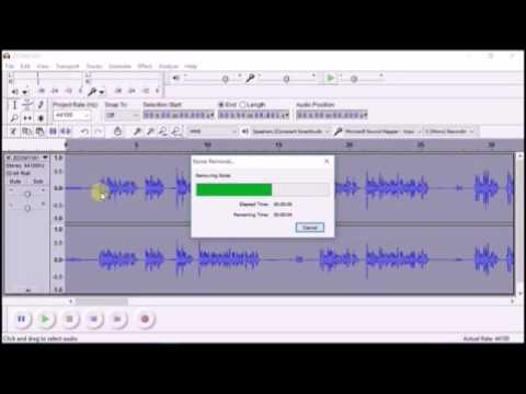 الدرس الأول  في تعليم استخدام  Audacity و Zoom H1 handy recorder