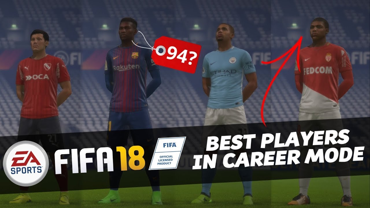Fifa 18 Career Mode Players