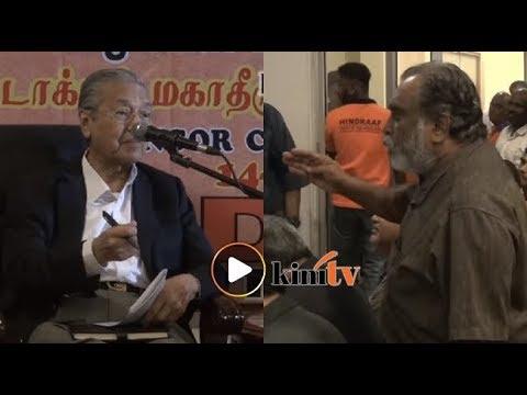 Dr M tenang jawab soalan peserta di forum Hindraf