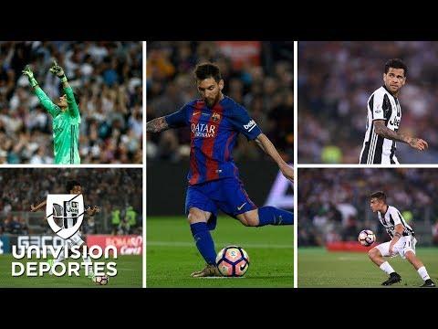 Messi, Dybala, Dani Alves, Cuadrado y Keylor, en el once ideal de latinos en Europa