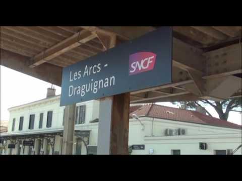 SNCF annonce Les Arcs-Draguignan ici Les Arcs-Draguignan