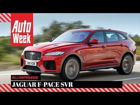 Jaguar F-Pace SVR - AutoWeek Review