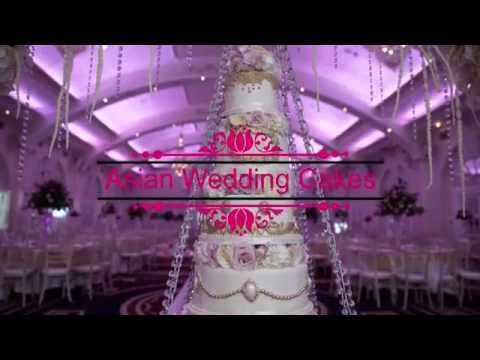 Asian Wedding Cakes - The Decorium Hanging Cake Arch