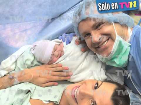 Alan Tacher y Cristina Bernal presentan a su princesa Michelle