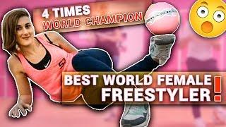 GIRL WORLD CHAMPION FREESTYLE URBANBALLER !