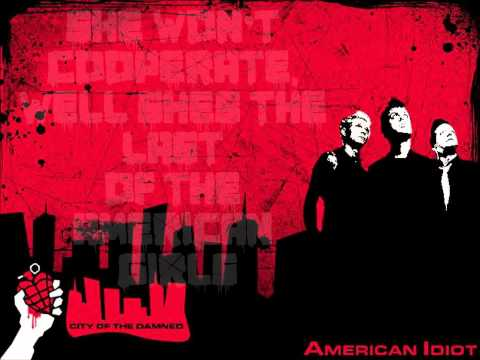 Last Of The American Girls/She's A Rebel-American Idiot Broadway Cast Lyrics