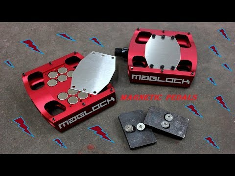 MAGLOCK STEALTH - MAGNETIC BIKE PEDALS
