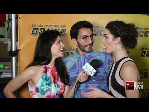 Robert Roldan And Taylor Sieve Talk Impact Of Dance On Audience - SYTYCD