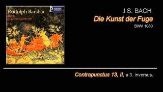 (19/22) Kunst der Fuge - Contrapunctus 13, II (No.13,II)