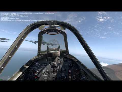 IL-2 Cliffs of Dover Fw200 intercept in Spitfire