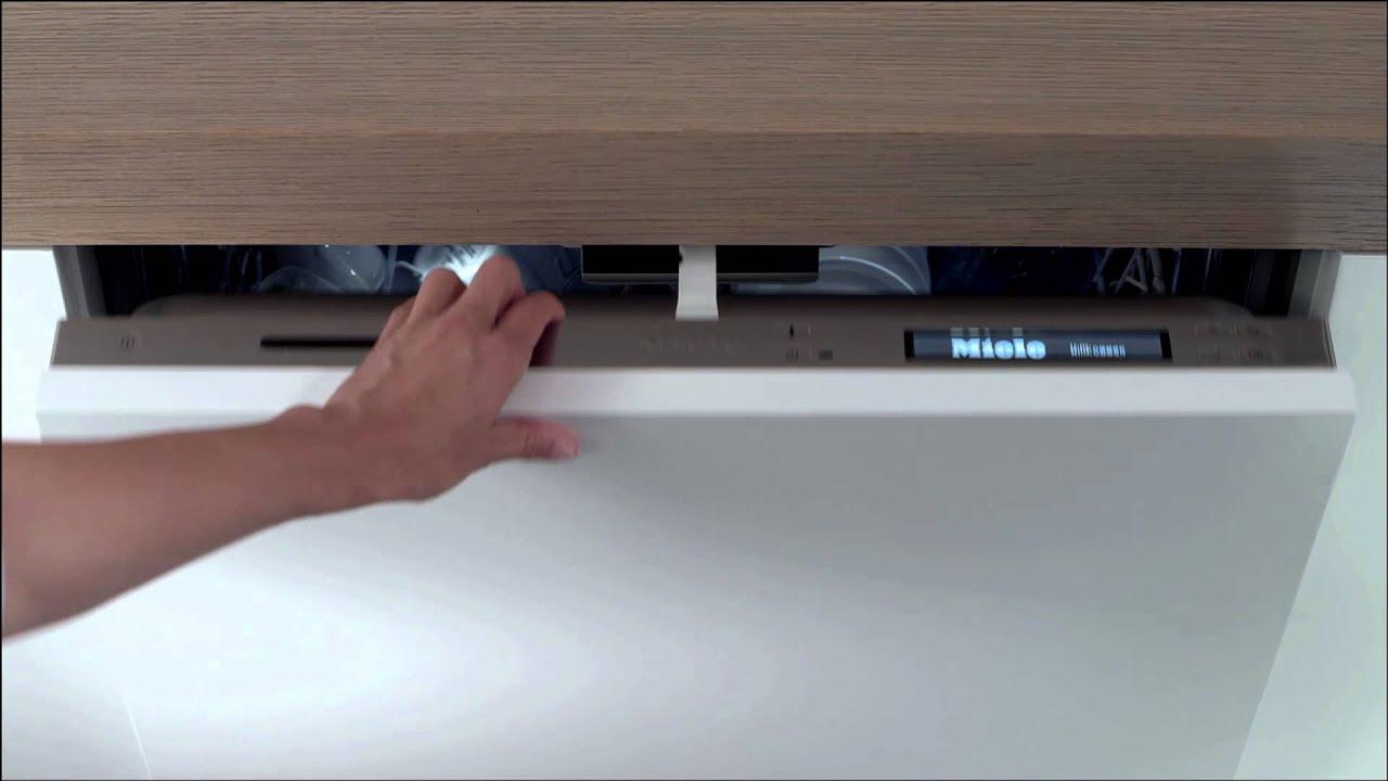Miele G6000 Dishwashers Knock2open Youtube