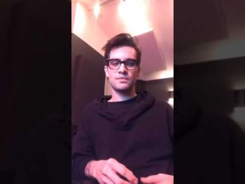 Brendon Urie's First Ever Instagram Live