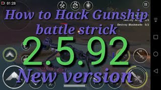 How to Hack Gunship battle strike online new version 2.5.92 no root no PC  with joyply I'd register
