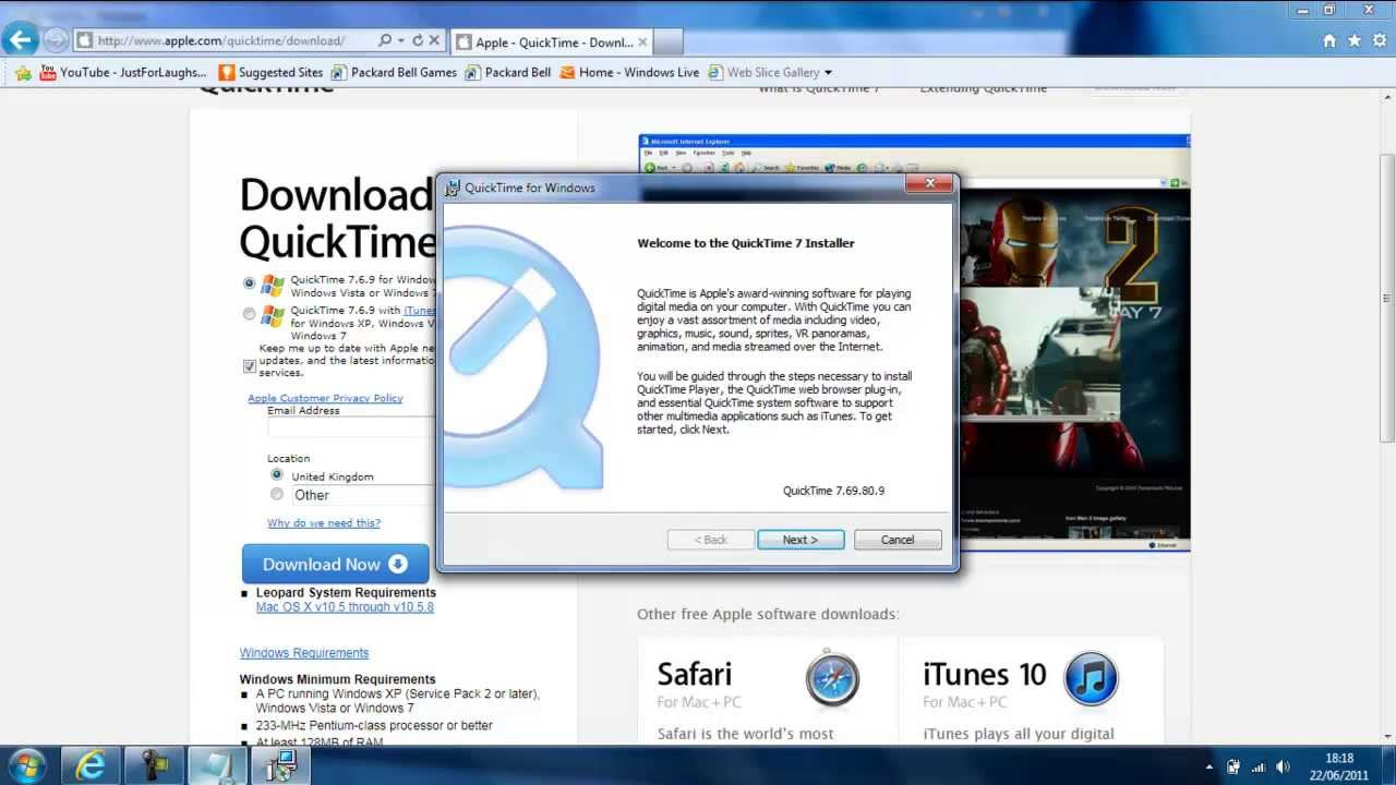SV HowTo: How to download QuickTime Player 7 7 1 ® (Free)