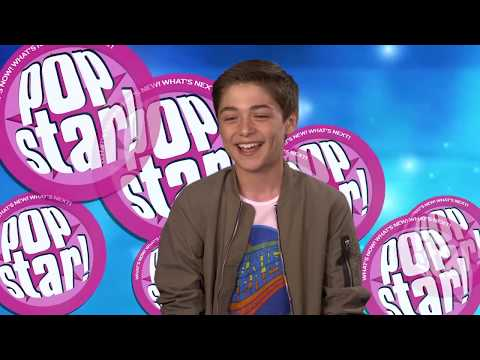 Asher Angel in studio - POPSTAR