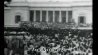 Soekarno Pidato di Depan Rakyat Jakarta