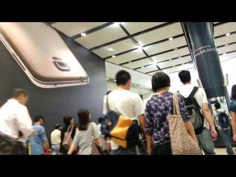 Hong Kong Central station MTR 中環