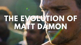 The evolution of matt damon in film & television