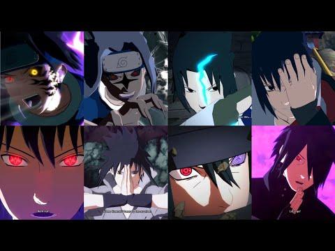 All Sasuke Uchihas Ultimate Jutsus & Team Ultimate Jutsus (Sasuke's Ultimate Jutsu Evolution)  