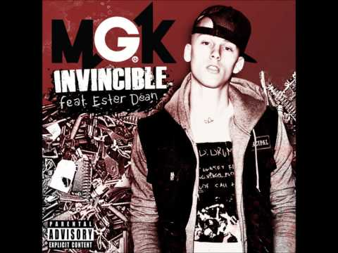 Invincible - Machine Gun Kelly ft. Ester Dean (Clean)