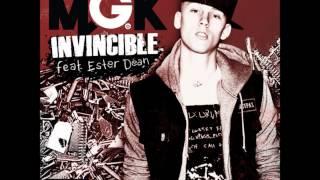Invincible - Machine Gun Kelly ft. Ester Dean (Clean)
